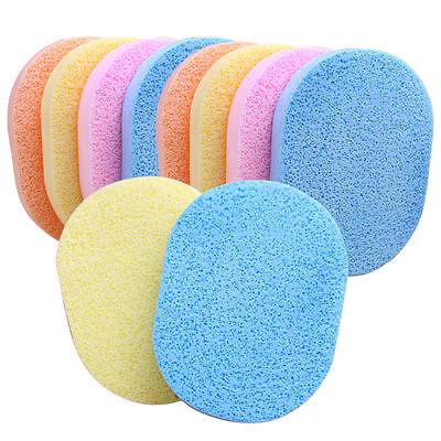 Soft Facial Exfoliator Sponge Buffs - Random Colour