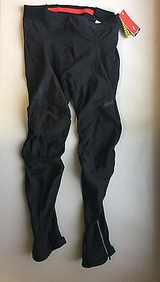 New Nwt Men's Specialized Therminal Tights Large Black Sh323