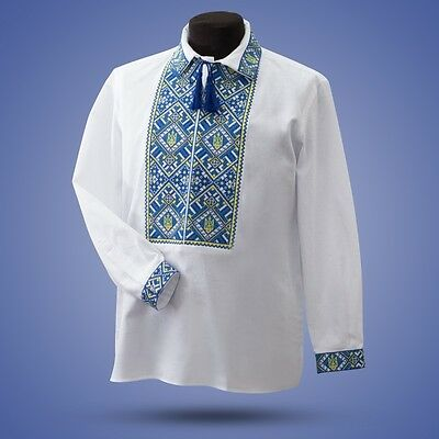 Ukrainian embroidery, embroidered shirt, 2 model, XS - 3XL