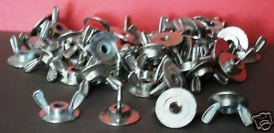 Hurricane washer wing nuts [18] NEW & [12] used Fasteners FREE SHIPPING