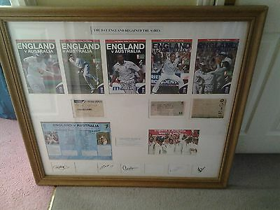 England Ashes Cricket Montage 2005