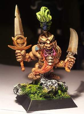 Rare OOP Confrontation - Pilzenbhir Defender of the Plains -  perfectly painted