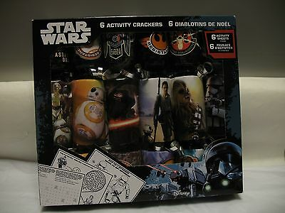 Star Wars Activity Crackers 6 pack sealed
