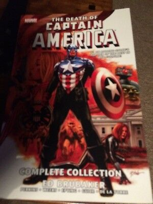 The Death Of Captain America Graphic Novel Complete Collection Marvel