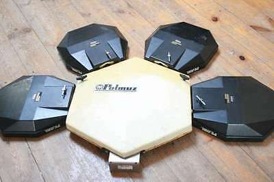 PEARL DRUM-X ANALOG ELECTRONIC DRUMS VINTAGE 80's 4 pads (SIMMONS ROLAND)