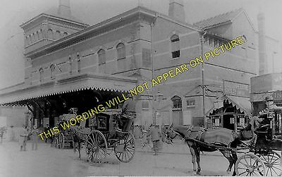 Herne Hill Railway Station Photo. Brixton to Dulwich and Tulse Hill Lines. (2)