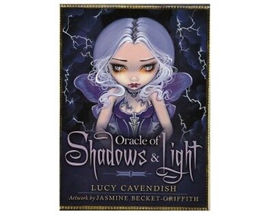 ORACLE OF SHADOWS & LIGHT DECK/BOOK SET By Lucy Cavendish NEW/SEALED FREE UK P&P