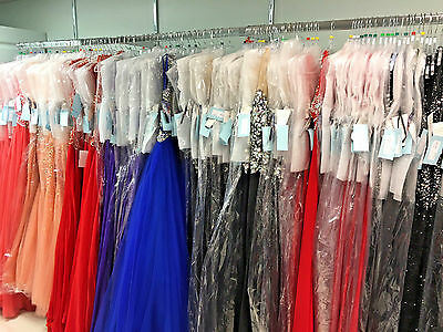 Wholesale Lot Of 10  *new*  Prom Pageant Dresses Assorted 0-20 Styles And Colors