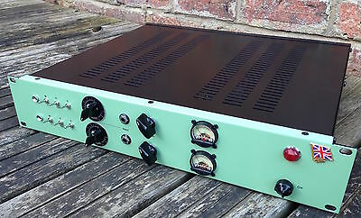 Vintage valve Tube Microphone Mic Preamp - 2 Chan with a vintage EMI module