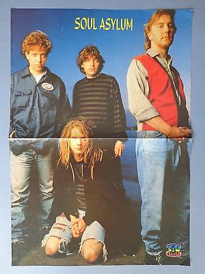 Rare poster with Soul Asylum from portuguese magazine TV Guia
