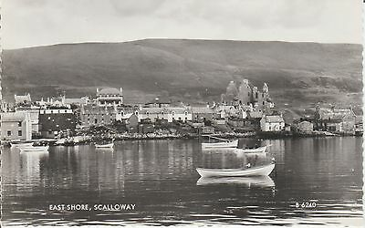 Scalloway - Shetland - East Shore - - Superb  Real Photo Postcard