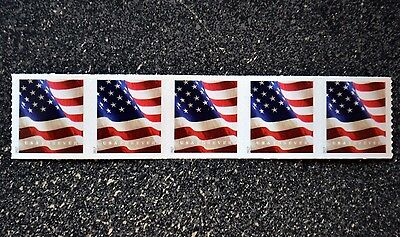2017USA #5158 Forever U.S. Flag US - Coil Strip of 5  Mint  (BCA)