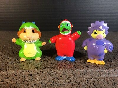 Nick Jr Wonder Pets Save the Dinosaurs Figure Pack set of 3 Cake Toppers