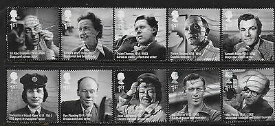 1) GB Stamps  2014 Remarkable Lives Full Set Good Used.