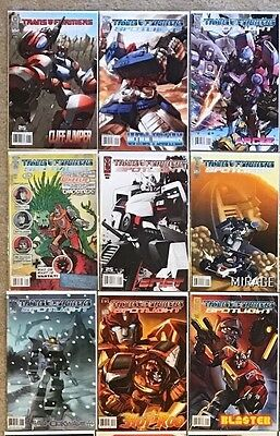 Transformers Spotlight IDW Set Of 30 Comic Book Issues One Shots NM