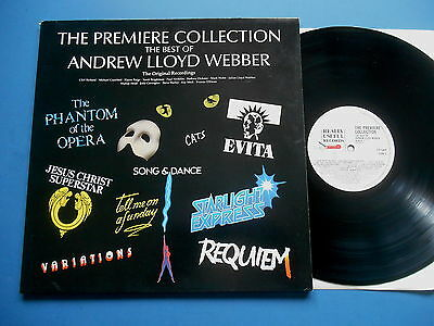The Best Of Andrew Lloyd Webber The Premiere Collection Lp G/fold Uk Ex