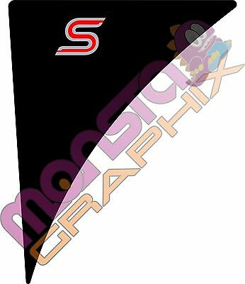 Ford Fiesta Mk7/7.5 Wing Badge Gel S PAIR ~ Pick Your Colours!