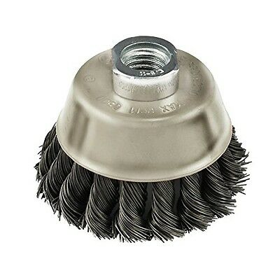 IVY Classic 39046 6-Inch x 5/8-Inch-11 Arbor, Carbon Steel Knot Wire Cup Brush -