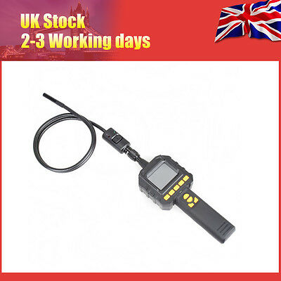 """2.3"""" Color Screen Dual 8MM Lens Endoscope Tube Inspection Cam W/ Quality Case"""