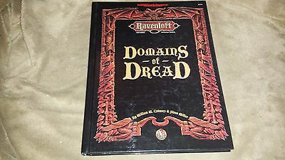 Dungeons and Dragons Ravenloft Domains of Dread - TSR 2174 - Hard Cover