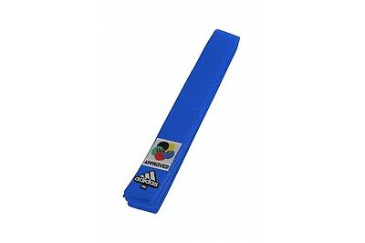 Adidas Karate Competition Belts WKF Approved Cotton Red and Blue 240cm or 280cm