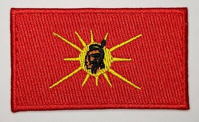 Oka Mohawk Warrior Unity Flag Patch Badge Embroidered Iron On Applique