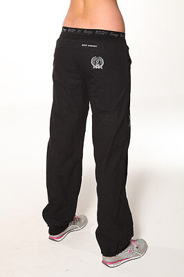 Blockout Cotton Relax Gym Workout Yoga Comfy Casual Pants Black XL-14 RRP$79-95