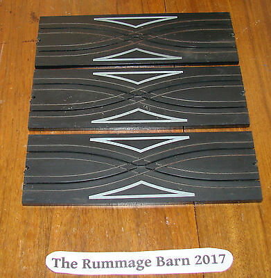 LOT of 3 vintage AURORA Model Motoring TRACK criss cross over lane #1524 PIECES