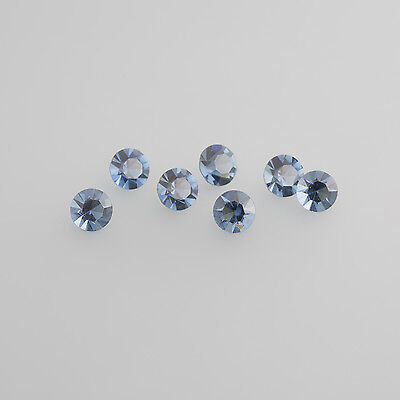 Glass montana Blue LOT (100 Pieces) 2,0mm Round / BOX 4 (3)