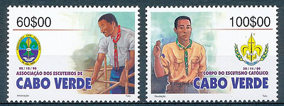 Cabo Verde - 2003 - Scouting - MNH / ( ** )