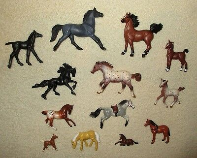 MODEL HORSE FIGURE COLLECTION Breyer Safari Britains Arabian Mustang Foal + more