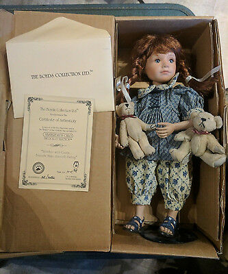 Yesterday's Child Doll 12in Boyds Bears Heather Gusty 4824