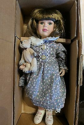Yesterday's Child Doll 12in Boyds Bears Erica 4809