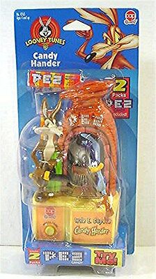 Looney Tunes 1998 Wile E Coyote And Road Runner Pez Dispenser -Unopened!