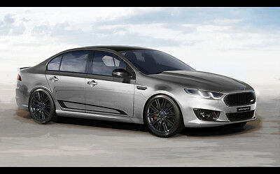 """2016 FORD FALCON XR8 SPRINT NEW A4 CANVAS GICLEE ART PRINT POSTER 11.7"""" x 7.6"""""""