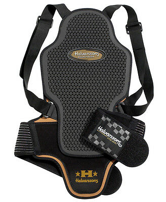 Genuine  BACK PROTECTOR HALVARSSONS TRACK CE APPROVED MOTORCYCLE MOTORBIKE