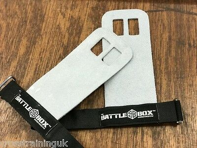 BattleBox UK™ Leather Gymnastic Grips CrossFit WOD UK