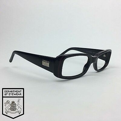 GUCCI eyeglass BLACK RECTANGLE frame Authentic MOD:GG 2450/S