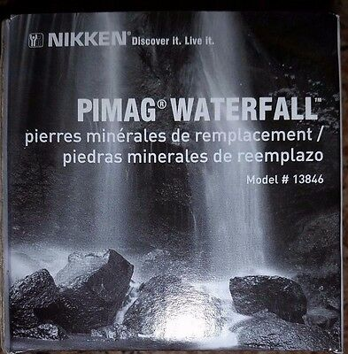 Nikken Pimag Waterfall Replacement Mineral Stones Item # 13846 Brand New