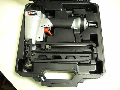 "Porter Cable FN250C Finish Nailer with carrying case ""Works Great"""