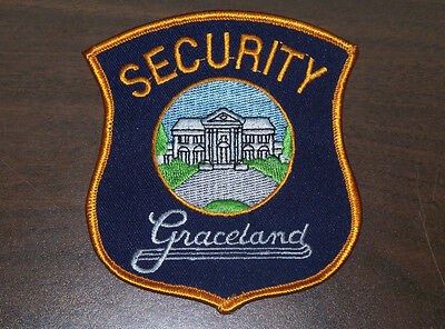 Very Rare Elvis Presley Graceland Security Guard Patch