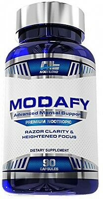 Modafy - NEW Premium Nootropic Brain Stack For Clarity, Energy, Concentration |