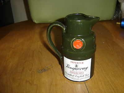 Imported Tanqueray Special Dry Gin Pitcher SOMERSET IMPORTERS NEW YORK