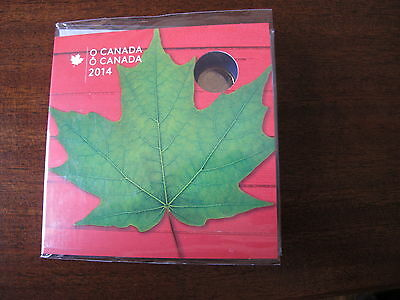 2014 *Oh Canada* Canadian 5 Coin Set with Special Maple Leaf Loon - New & Sealed