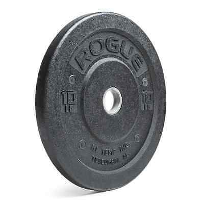 Rogue Fitness 10 Lbs Olympic Bumper Plates Hi-Temp Rubber Crossfit SOLD as PAIR