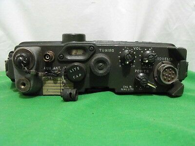 Usa Military Radio Rec-Xmtr Rt-176A Prc-10 Transceiver Vintage 1951 Untested