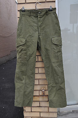 Canadian Forces Combat Pants Heavyweight OD Size 7032