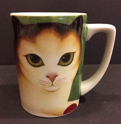 Abednigo Martin Leman Cat Ceramic Coffee Mug Department 56