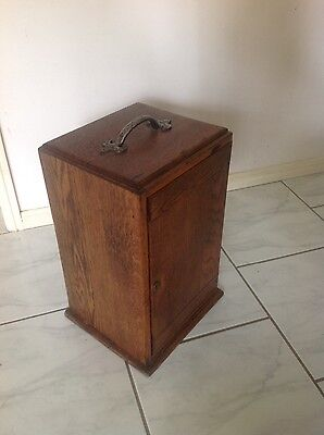 Antique Wooden Microscope Box