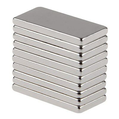 5/10/20/50pcs Super Strong Block Fridge Magnets Rare Earth Neodymium 20x10x2mm